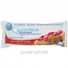 Спортивный батончик Quest Protein Bar арахисовое