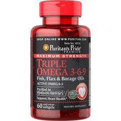 Витамины Maximum Strength Triple Omega 3-6-9 (60