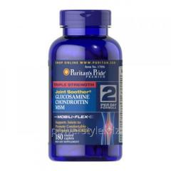 Добавки для спортсменов Glucosamine Chondroitin with MSM (180 таблетс)