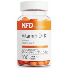 Минералы Vitamin D + K (100 таблетс)