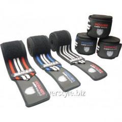 Коленные бинты PS-3700 red - black