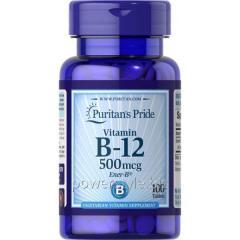 Минералы Vitamin B-12 500 mcg (100 таблетс)