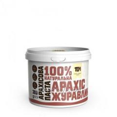 Арахисовая паста С КЛЮКВОЙ (300 грамм)