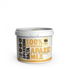 Арахисовая паста С МЕДОМ (300 грамм)