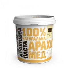 Арахисовая паста С МЕДОМ (500 грамм)
