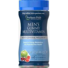 Витамины Men's Gummy Multivitamin 60 конфет