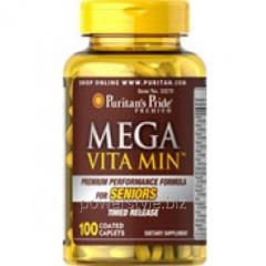 Минералы Mega Vitamin for Seniors 100 капсул