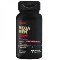 Минералы Mega Men Sport 28 капсул