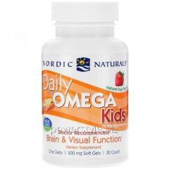 Витамины Daily Omega Kids 30 softgels