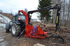 Shchepodrobilka, a wood grinder with the