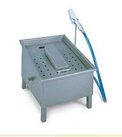Sink for hand-operated footwear, Roser