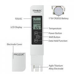Прибор для измерения общей минерализации воды. TDS