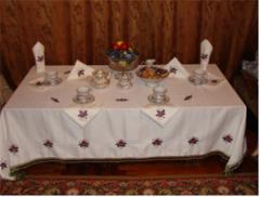 Oval masa örtüleri