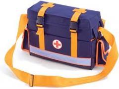 Набор для оказания экстренной медицинской помощи в сумке санитарной НИЭМП-01.3