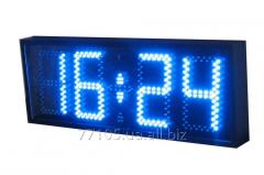 Электронные часы фасадные