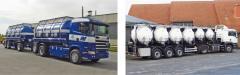 Fiberglass (voloknit) tankers