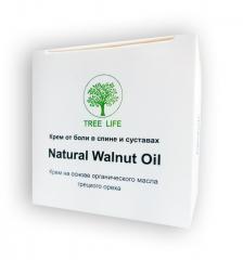 Natural Walnut Oil - Крем от боли в спине и