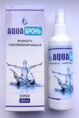 AQUA Бронь - Водоотталкивающий спрей для обуви,