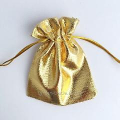 Мешочек (упаковка) под брелок гос.номер под золото на оболони в киеве