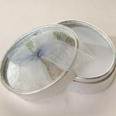 Подарочная коробочка (упаковочка) под брелок номер с мягкой подложкой под серебро и золото (на выбор)