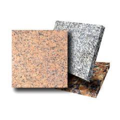 Granite plates, production, sale