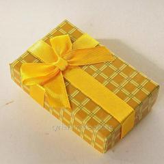 Коробочка подарочная с бархатной подложкой под брелок гос номер в киеве на оболони