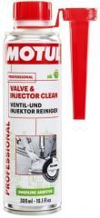 Промывка для бензиновой системы подачи топлива Motul VALVE AND INJECTOR CLEAN (300ML)
