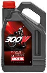 Моторное масло для мотоспорта 4Т MOTUL 300V 4T