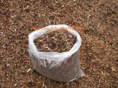 Decorative pine bark