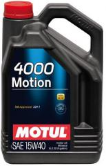 Масло моторное 15w40 минеральное Motul 4000 MOTION