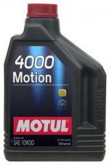 Масло моторное минеральное 10w30 Motul 4000 MOTION