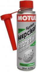 Промывка бензиновой топливной системы Motul SYSTEM KEEP CLEAN GASOLINE (300ML)