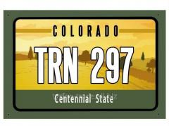Американский номер Колорадо (Изготовим за 1 час)