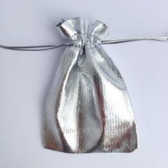 Мешочек подарочный для упаковки под серебро и золото на выбор