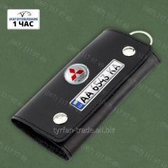 Ключницы для автомобильных ключей с номером и