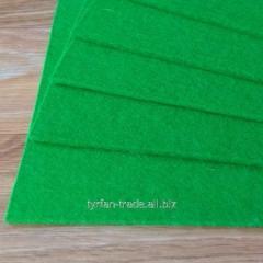 Войлок натуральный. Состав 100% шерсть, толщина 3 мм. Ширина рулона 183 см. Производство италия.