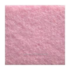 Войлок синтетический розовый фетр состав 100% полиэстер, толщина 3 мм. Ширина рулона 100 см.италия