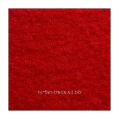 Войлок синтетический темно-красный фетр состав 100% полиэстер, толщина 3 мм. Ширина рулона 100 см.