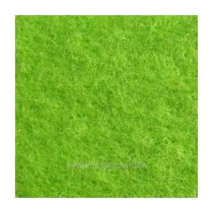 Войлок синтетический салатовый фетр состав 100% полиэстер, толщина 3 мм. Ширина рулона 100 см