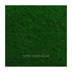 Войлок синтетический темно-зеленый фетр состав 100% полиэстер, толщина 3 мм. Ширина рулона 100 см.