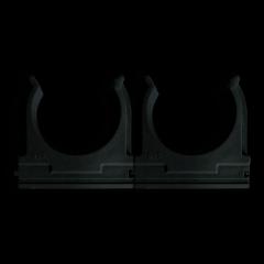 Клипса для гофротрубы O40 черная