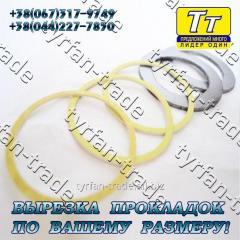 Прокладка фланца ду-150 (паронит, резина, фторопласт, тефлон) вырезка прокладок по вашему индивид. Размеру