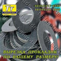 Прокладка паронита пон-а (б) 2мм ду 900 (вырезка