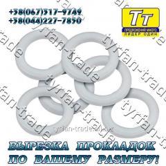 Прокладка фланца ду-25 (паронит,  резина, ...