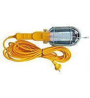 Переносная лампа электрическая с удлинителем 10 м