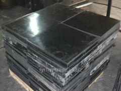 Вибродемпфирующая резина, техпластина 500х500мм, 1000х1000мм, 1300х2000мм в листах и пластинах