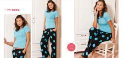 Female pajamas from Gabriella cotton