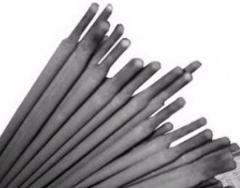 Electrodes the MNCh-2, TsCh-4 brand for cast iron