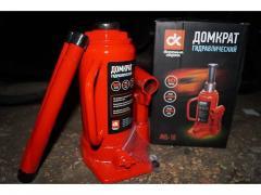 Домкрат гидравлический 10т ДК JNS-10 красный