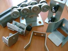 Accessories for retractable gate of SP-6